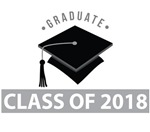 Class Of 2018 Graduation Logo Tees
