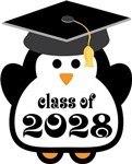 Class of 2028 penguin logo gifts