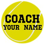 Tennis Coach Personalized Gift