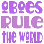 Oboes Rule The World T-shirts