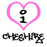 I Heart Cheshire Connecticut T-shirts