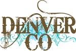 DENVER Colorado grunge T-shirts
