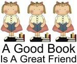 BOOKS ARE FRIENDS