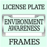 ENVIRONMENT AWARENESS LICENSE FRAMES