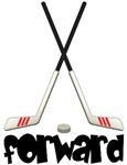 Cute Hockey Forward T-shirts / Gifts