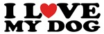 I Love Dogs T-shirts / Gifts