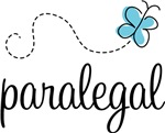 Butterfly Paralegal T-shirts and Gifts