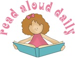Pink Read Aloud Daily Book T-shirts