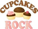 Cupcakes Rock Sweet T-shirts
