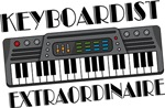 Keyboard Extraordinaire Music Tees