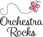 Cute Orchestra Rocks Tee Shirts