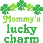 Cute Irish Mommy's Lucky Charm Kids T-shir