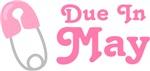 Pink Diaper Pin May Maternity