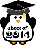Penguin Class Of 2014 T-shirts and Graduation Gift