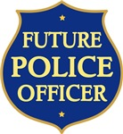 Cute Future Police Officer Baby T-shirts