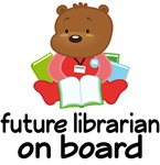 Future Librarian On Board Maternity Announcement T