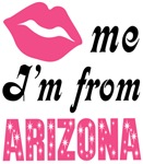 Kiss Me Im From Arizona T shirts and Gifts