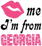 Kiss Me Im From Georgia T shirts and Gifts