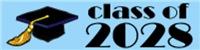 CLASS OF 2028 Graduation T-shirts
