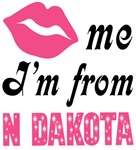Kiss Me Im From North Dakota T shirts and Gifts