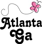 Atlanta Georgia Butterfly T-shirts and Gifts