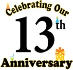 13th Anniversary Party Gift T-shirts