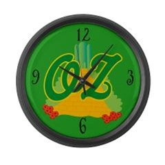 WIZARD OF OZ WALL CLOCKS