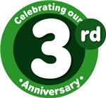 3rd Anniversary Green Gift T-shirts