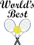World's Best Tennis T-shirts and Gifts