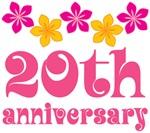 20th Anniversary Gift Hawaiian Themed