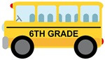 6th GRADE SCHOOL BUS GIFTS AND T SHIRTS