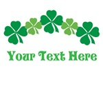 Custom St Patricks Day Clover T-shirts