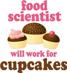 Funny Food Scientist T-shirts and Gifts