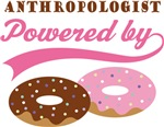 Anthropologist Powered By Doughnuts Gift T-shirts