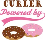 Curler Powered By Donuts Gift T-shirts