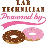 Lab Technician Powered By Donuts Gift T-shirts