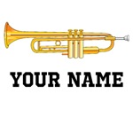 PERSONALIZED TRUMPET T-SHIRTS AND MUSIC GIFTS