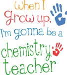Future Chemistry Teacher Kids T-shirts