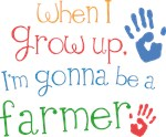 Future Farmer Kids T-shirts