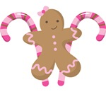 Cute Gingerbread Cookie Candy Cane Gifts and Tees