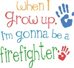 Future Firefighter Kids T-shirts