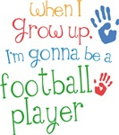 Future Football Player Kids T-shirts
