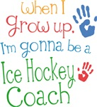 Future Ice Hockey Coach Kids T-shirts