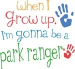 Future Park Ranger Kids T-shirts