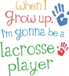 Future Lacrosse Player Kids T-shirts