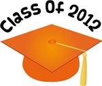 2012 School Class Graduation (Orange)