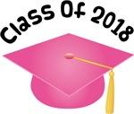 2018 School Class Graduation (Pink)