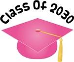 2030 School Class Graduation (Pink)