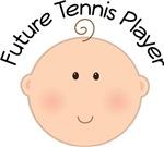 Future Tennis Player Baby T-shirts