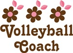Volleyball Coach Daisy T-shirts and Gifts